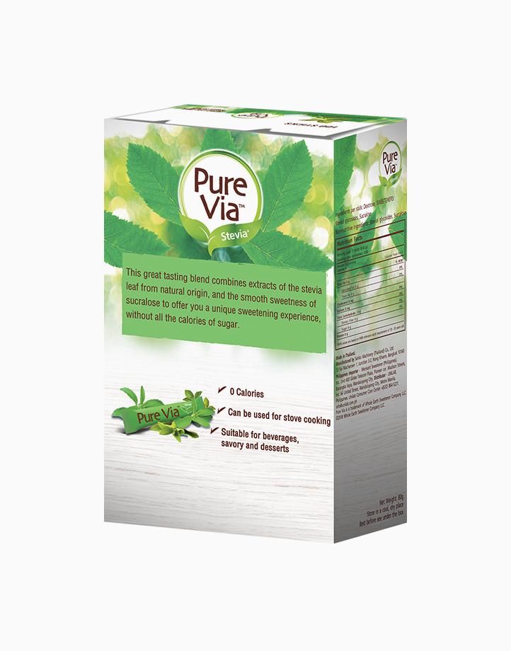 Pure Via Stevia Zero Calorie Sweetener (100 Sticks) by Equal Philippines