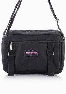 Chelsy Body Bag (Black) by Heartstrings