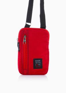 Dev Sling Bag (Red) by Heartstrings