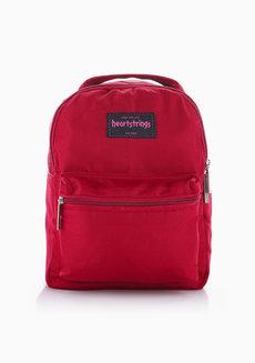 Bree Backpack Extra Small Plain (Maroon) by Heartstrings