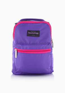 Bree Backpack Extra Small Plain (Pink & Violet) by Heartstrings
