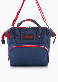 Hanzo Backpack Medium (Dark Blue) by Heartstrings