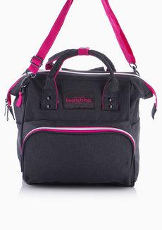 Hanzo Backpack Medium (Black) by Heartstrings