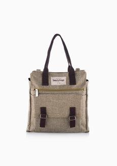 Chelsy Dual Bag (Tan) by Heartstrings