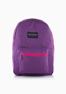 Heart Backpack Plain (Violet) by Heartstrings