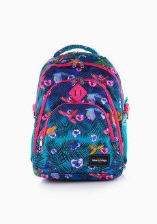 Heaven Backpack Multicolor (Parrot Print) by Heartstrings
