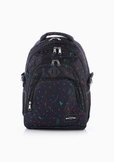 Heaven Backpack Multicolor (Black Print) by Heartstrings