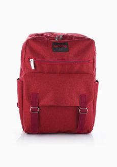 Chelsy Backpack (Maroon) by Heartstrings