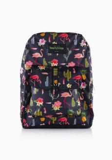 Wind Backpack Large (Flamingo) by Heartstrings