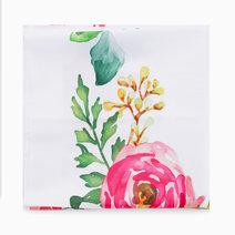 Carnation Baby Milestone Blanket by Gubby and Hammy