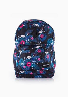 Hanabi Backpack Large (Floral Black) by Heartstrings