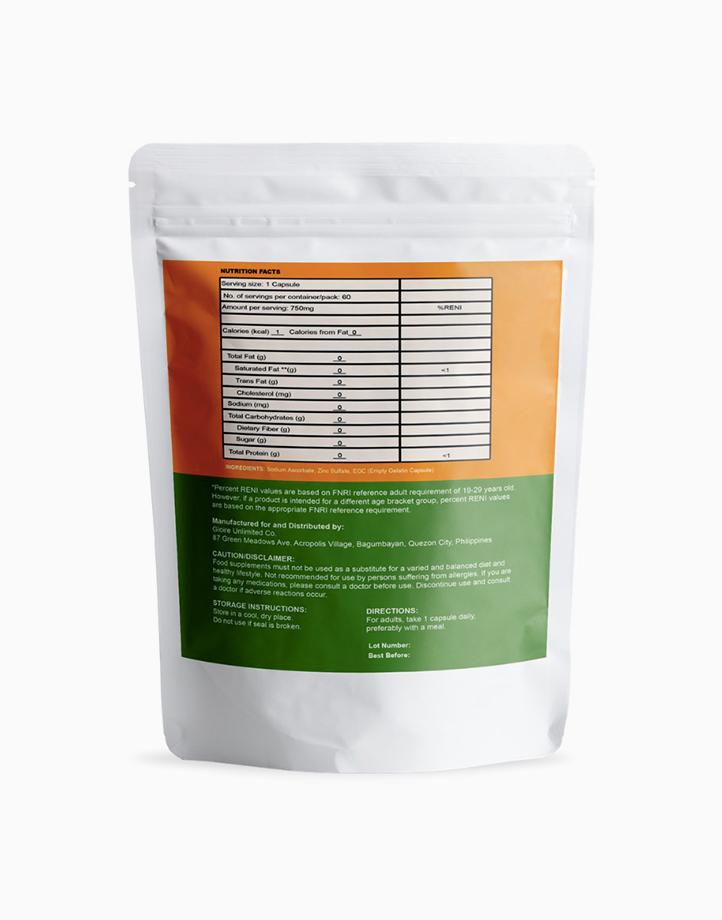 Emmune C (750 mg, 60 capsules) by SOZO Natural