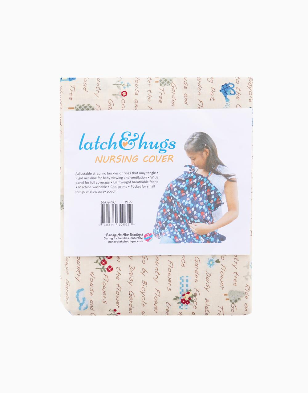 Latch & Hugs Nursing Cover (Country Life) by Nanay At Ako