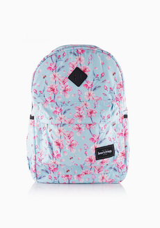Hanabi Backpack Large (Floral Blue) by Heartstrings