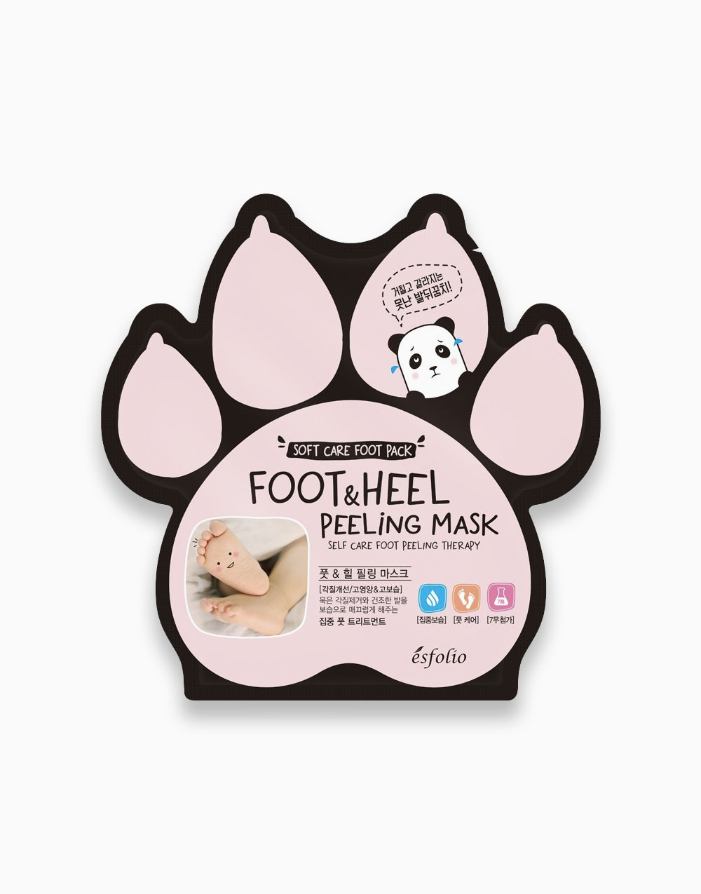 Foot & Heel Peeling Mask by Esfolio