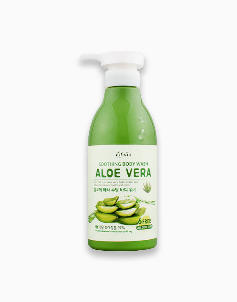 Aloe Vera Soothing Body Wash by Esfolio