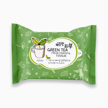 Pure Skin Green Tea Facial Cleansing Tissue by Esfolio