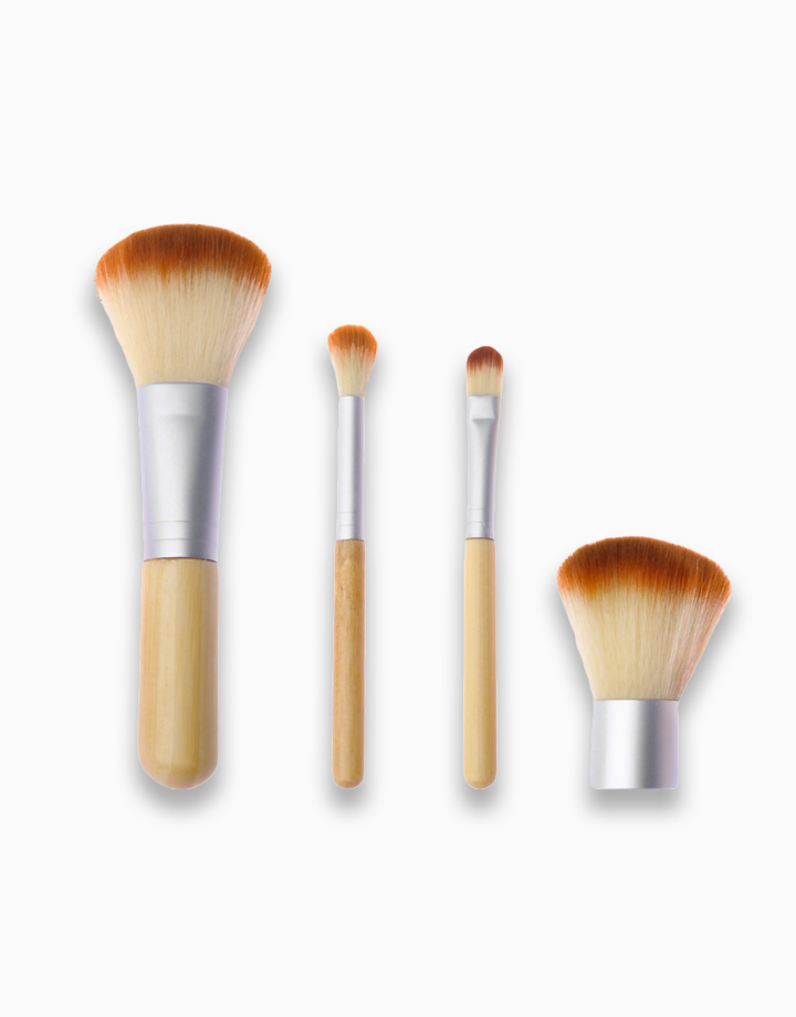 4-Piece Personal Brush Set with Pouch by PRO STUDIO Beauty Exclusives