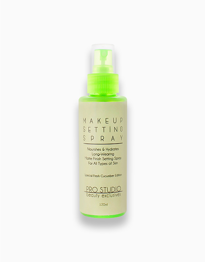 Special Edition Setting Spray by PRO STUDIO Beauty Exclusives | Fresh Cucumber