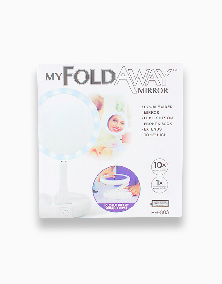 Foldable LED Mirror by PRO STUDIO Beauty Exclusives