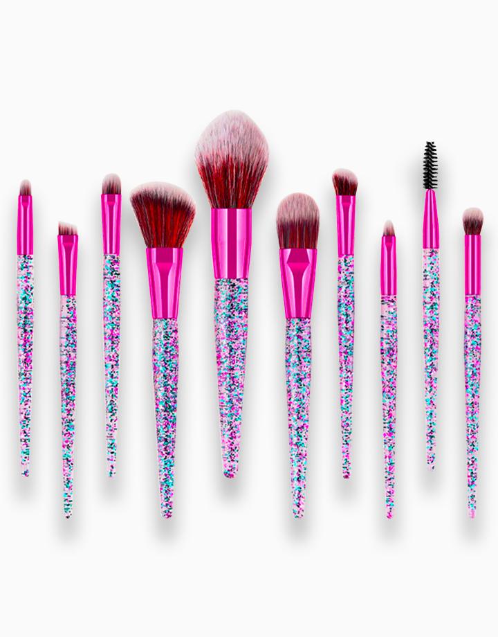 10-Piece Glitter Brush Set by PRO STUDIO Beauty Exclusives