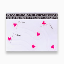 1 three piece korean style eyebrow stencils