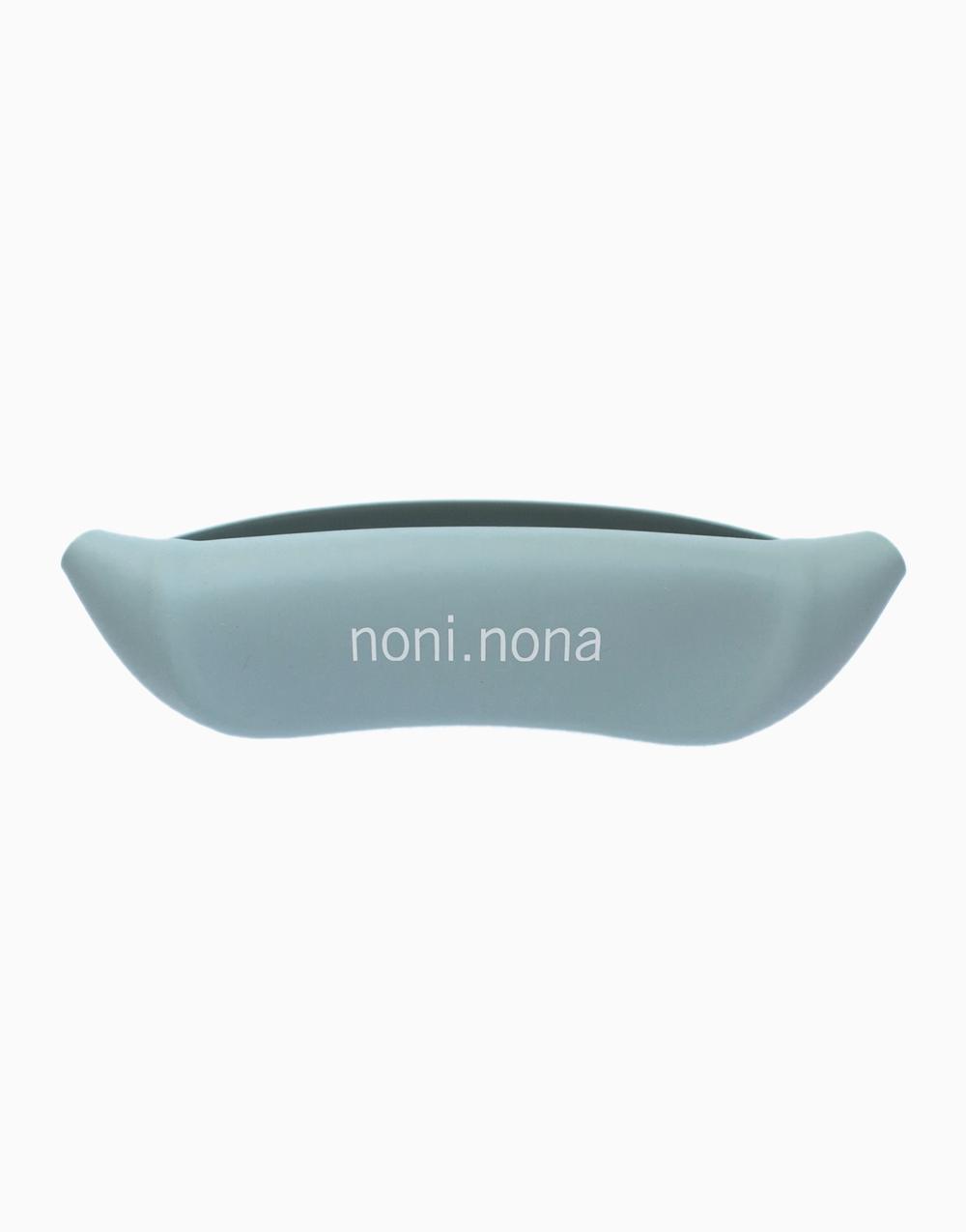 Silicone Bib by noni.nona | Ether Blue