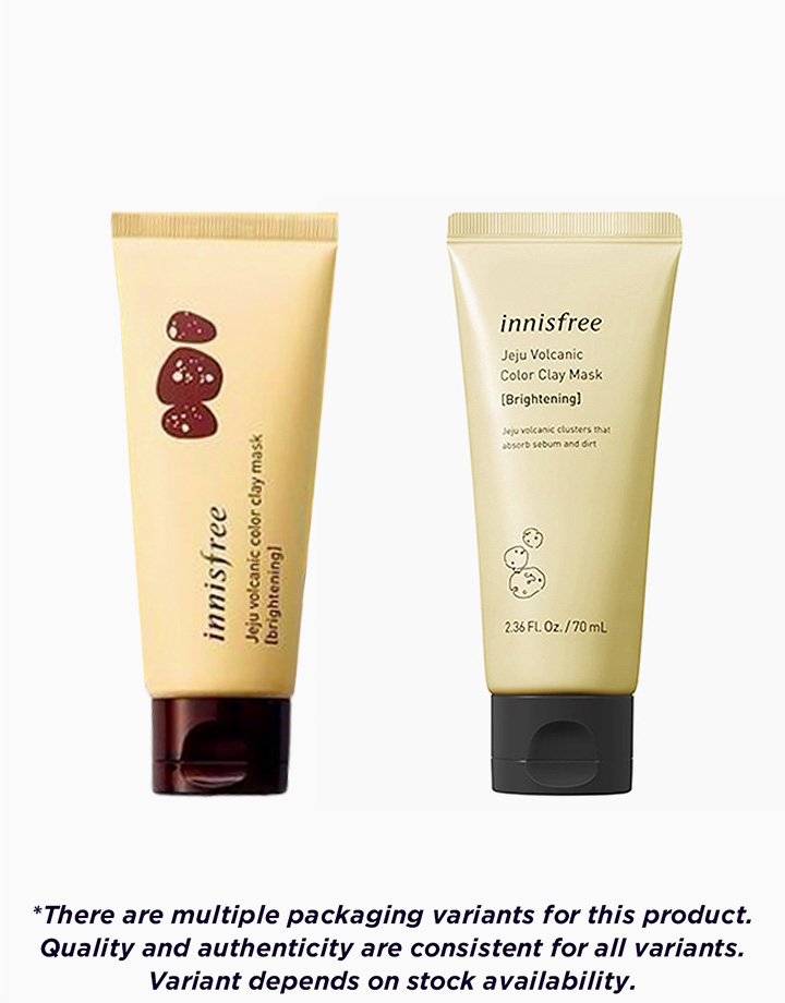 Jeju Volcanic Color Clay Mask by Innisfree | Yellow