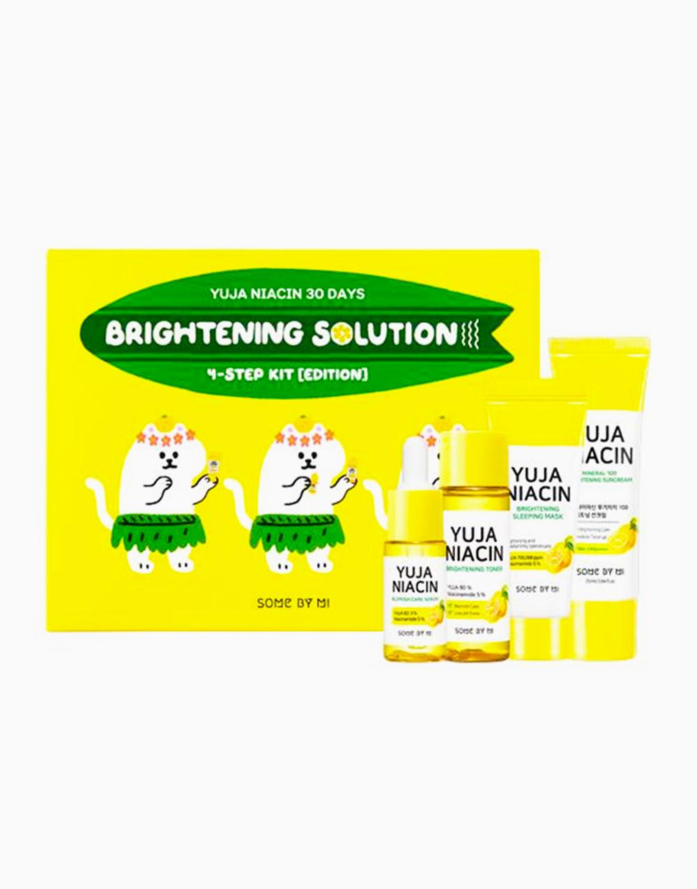 Yuja Niacin 30 Days Brightening Solution 4-Step Kit by Some By Mi