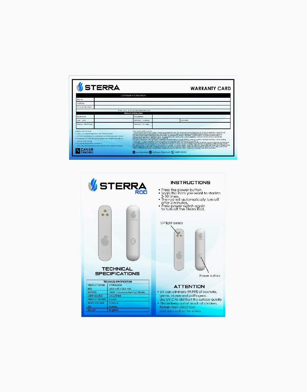 UV Rod by STERRA