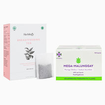Bundle mega malunggay 100 and breastfeeding tea