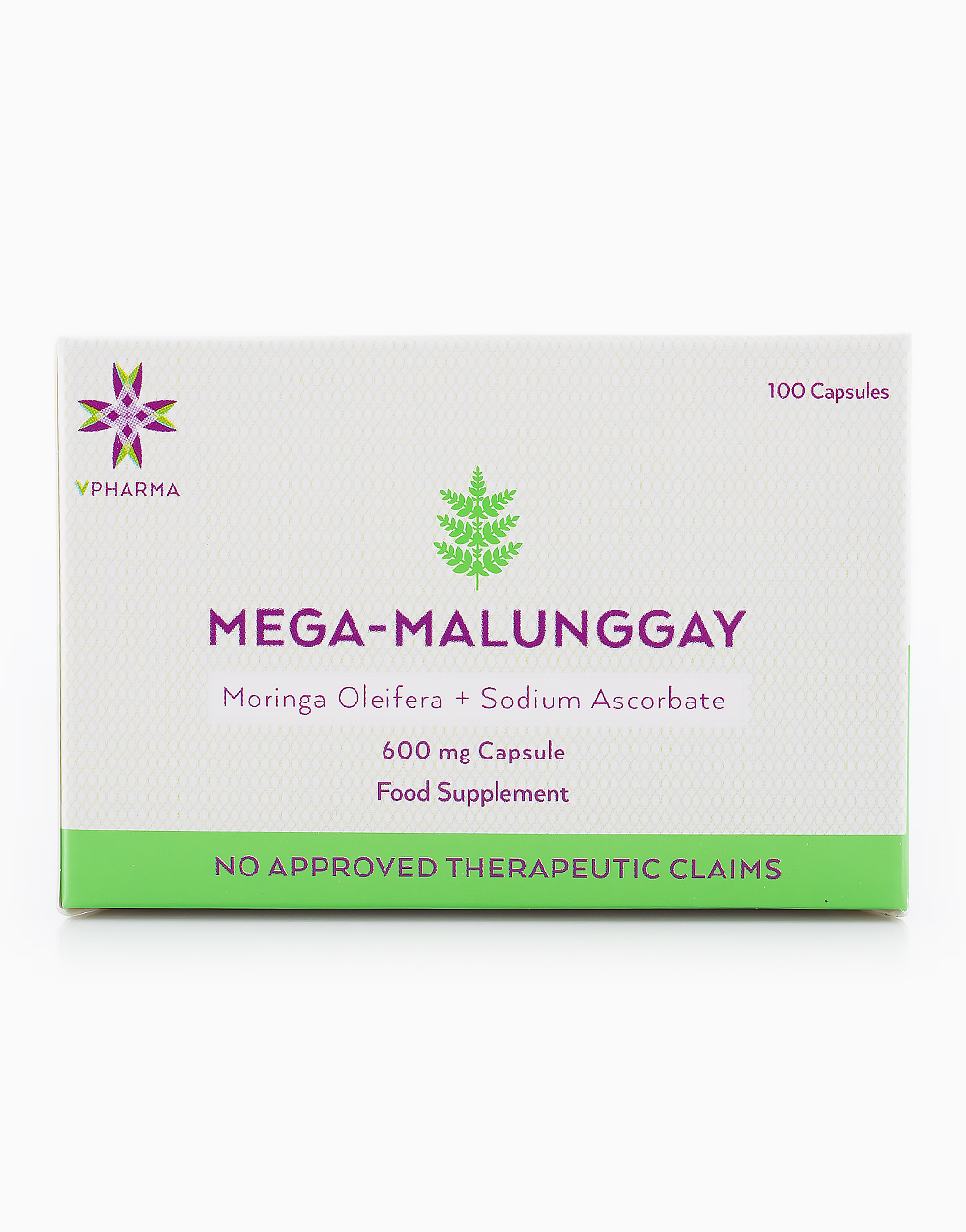 Mega-Malunggay (3 x 100 Capsules) by VPharma