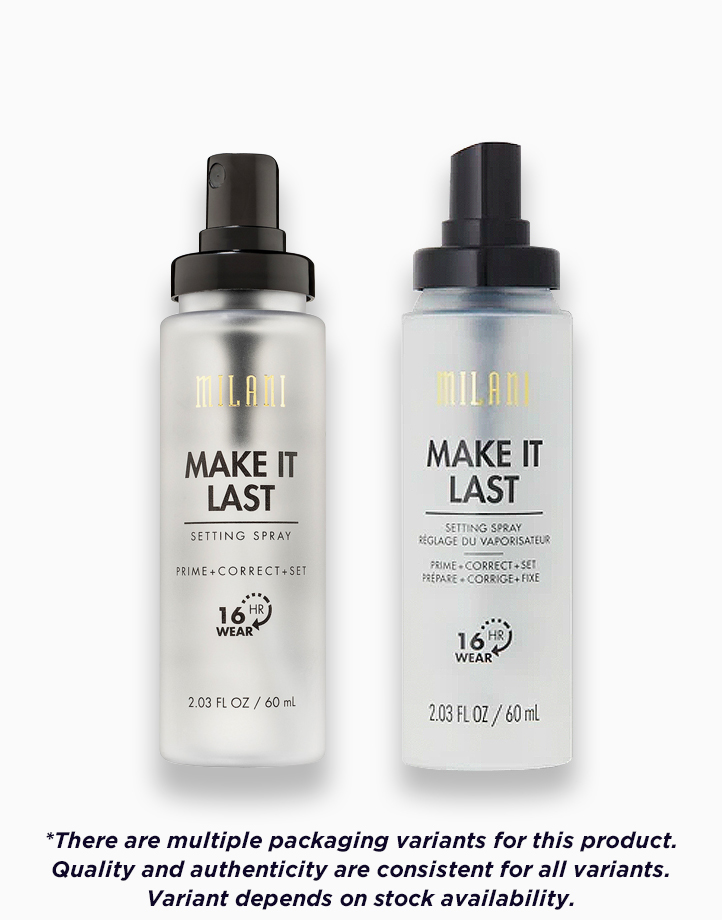 Make It Last Setting Spray Prime + Correct + Set by Milani