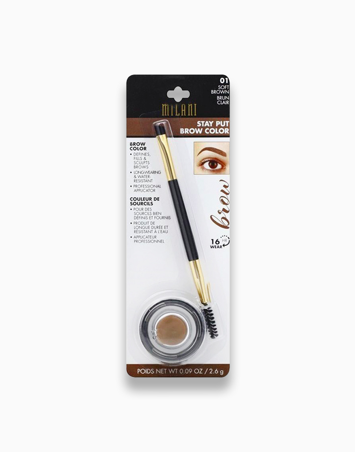 Stay Put Brow Color by Milani | Soft Brown