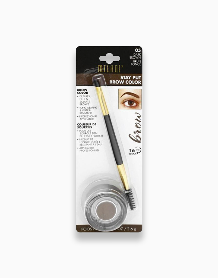 Stay Put Brow Color by Milani | Dark Brown