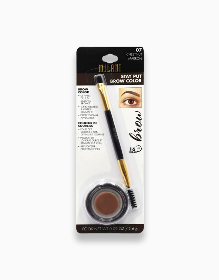 Stay Put Brow Color by Milani | Chestnut