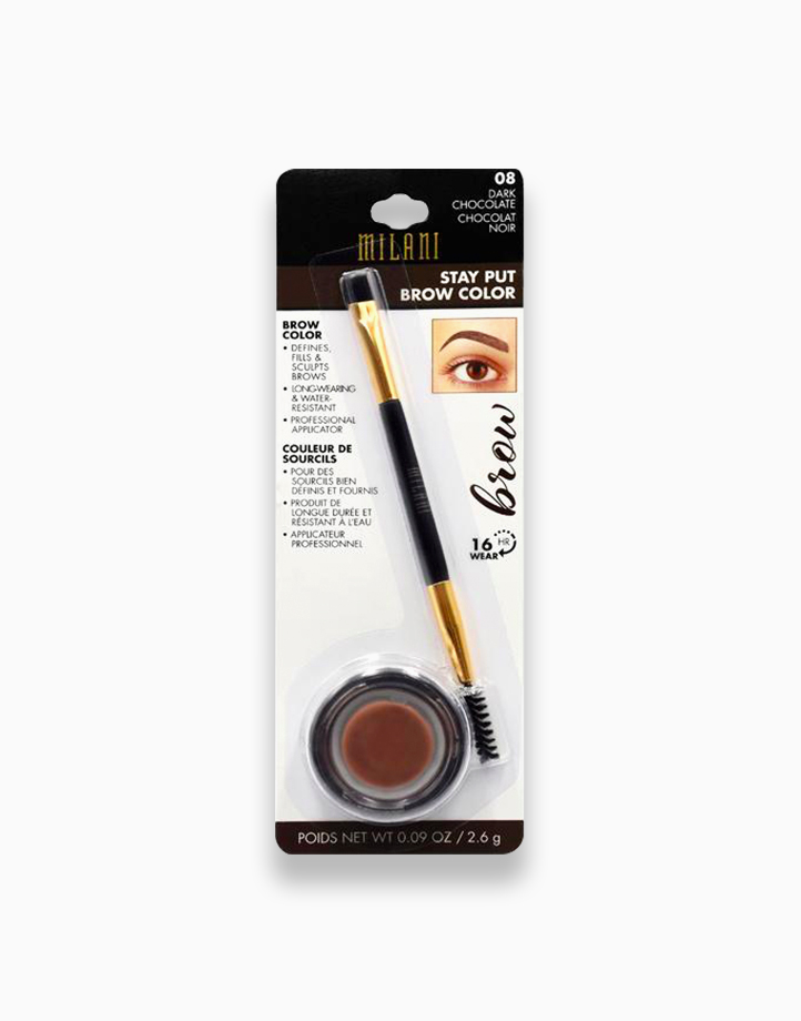 Stay Put Brow Color by Milani | Dark Chocolate