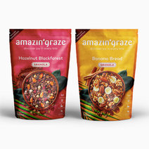 Breakfast Bundle: Hazelnut & Banana by Amazin' Graze