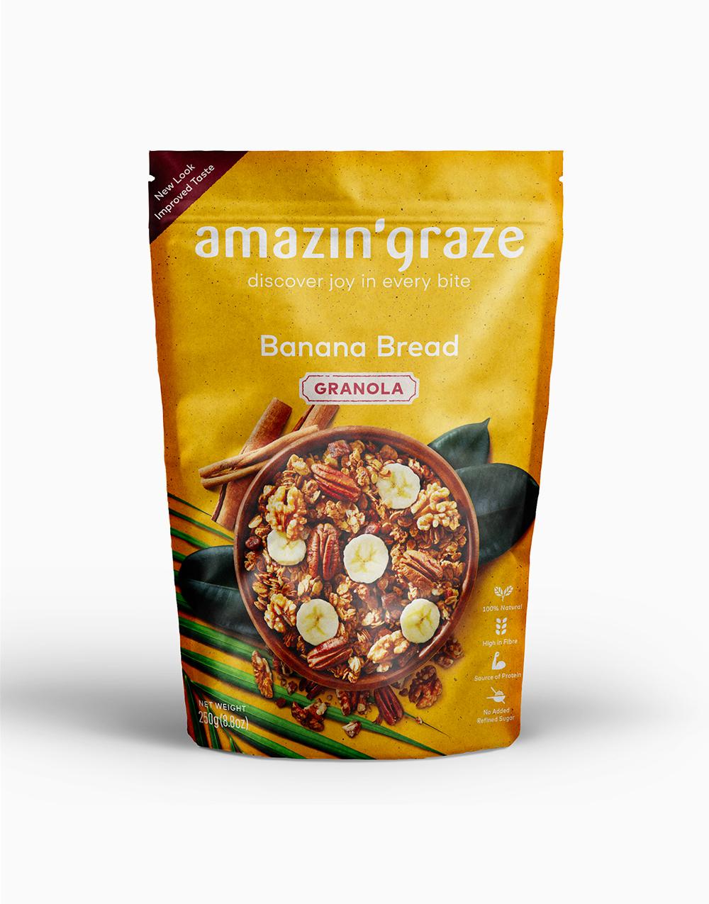 Breakfast Bundle: Hazelnut & Banana by Amazin' Graze