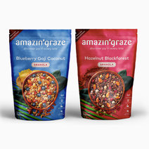 Breakfast Bundle: Blueberry & Hazelnut by Amazin' Graze