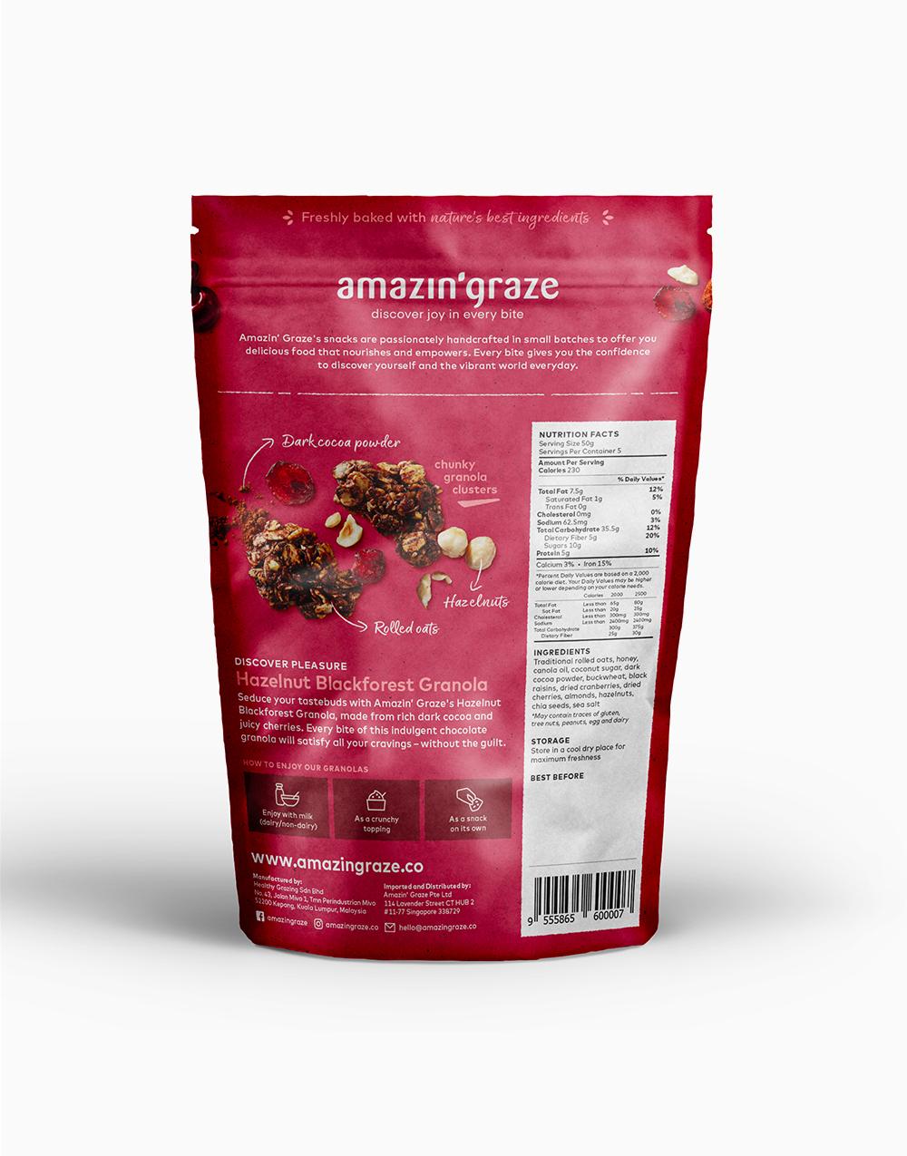 Breakfast Bundle: Blueberry & Hazelnut by Amazin' Graze