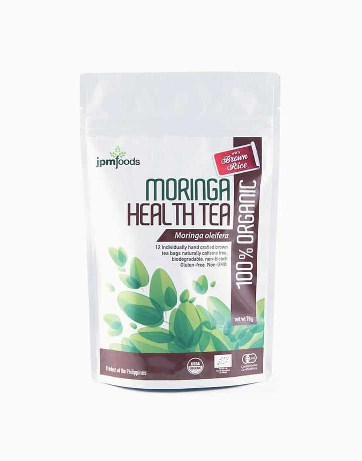 "Organic Moringa ""Malunggay"" Health Tea with Brown Rice (12 Tea Bags) by JPM"