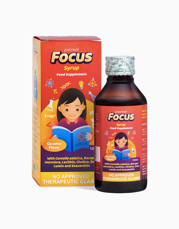 Focus Syrup Brain & Eye Supplement for Kids (120ml) by FOCUS