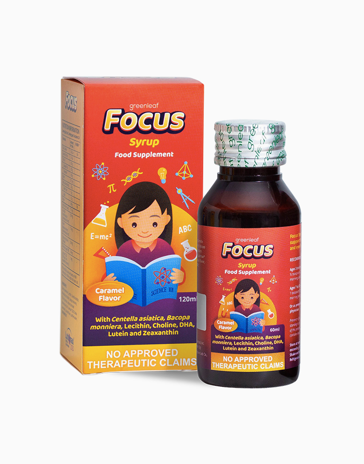 Focus Syrup Brain & Eye Supplement for Kids (60ml) by FOCUS