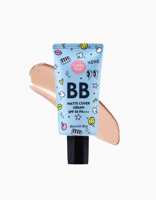 Matte Cover Blemish Blur BB Cream SPF50 PA+++ by Cathy Doll | Medium Beige