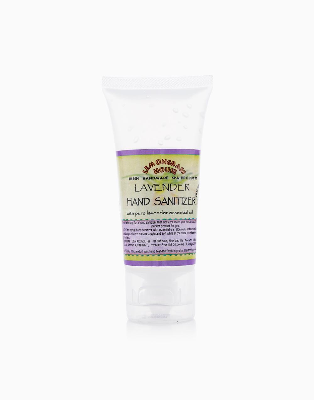 Lavender Hand Moisturizer & Sanitizer 62% Alcohol (60ml) by Lemongrass House