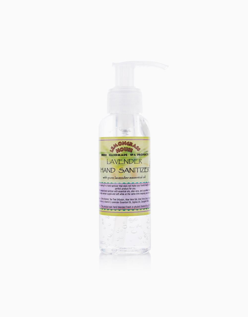 Lavender Hand Moisturizer & Sanitizer 75% Alcohol (120ml) by Lemongrass House