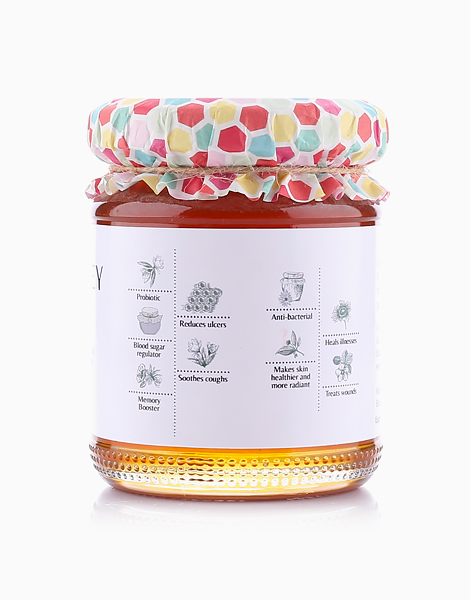 Pure, Raw, Multi Floral, Wild Honey (60g) by Milea