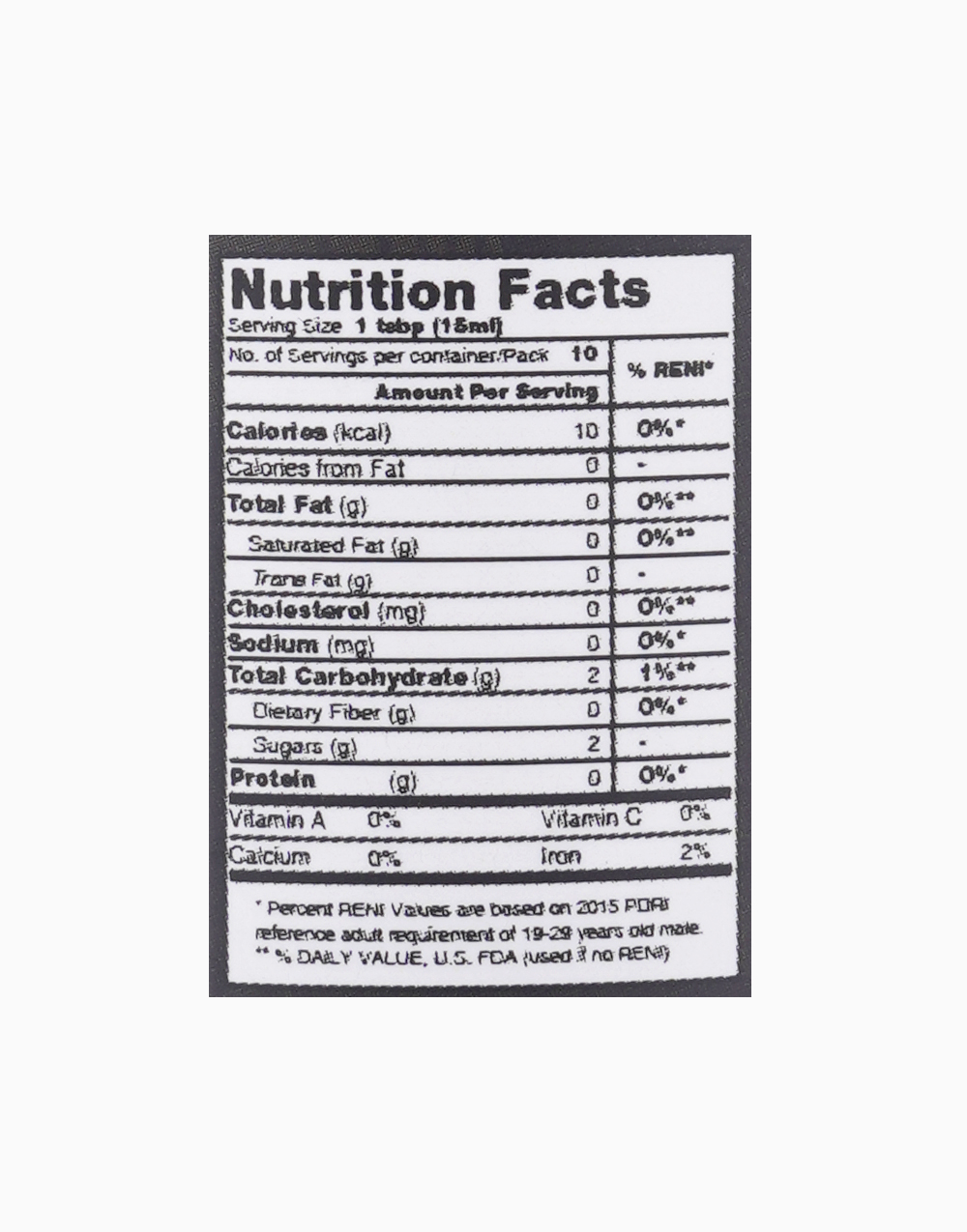 Organic Coconut Balsamic Vinegar (150ml) by Buko Foods