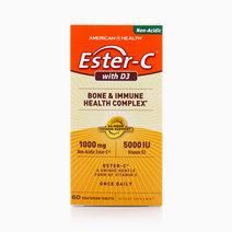 Ester-C w/ D3 (1,000mg, 60 veg tabs) by American Health